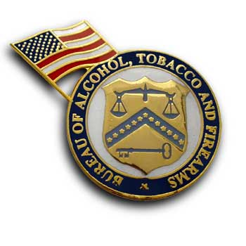 government agency Soft Enamel pin