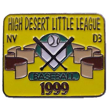 sports - baseball/softball/Little League Soft Enamel pin