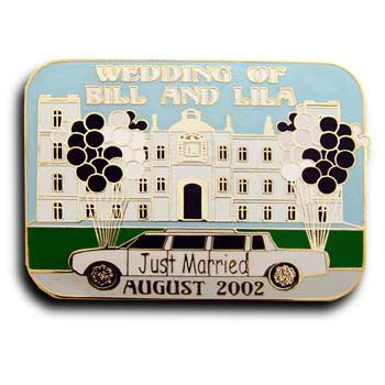 weddings Resin EPOLA (Cloisonn�) pin