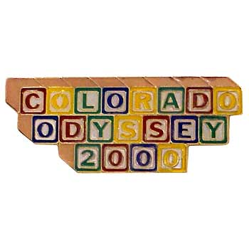 Odyssey of the Mind Soft Enamel pin